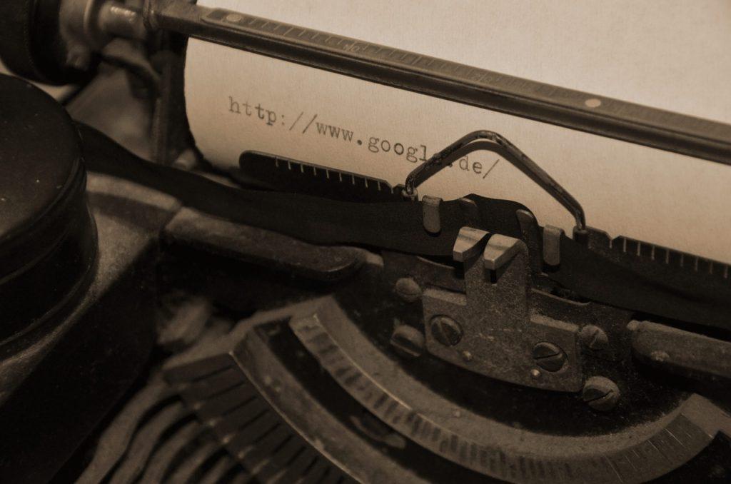 Clavier de machine à écrire
